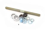 11mm loose bearing axle - 165mm - complete