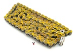 YELLOW 420 reinforced deluxe drive chain