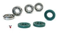 puch E50 one speed complete 4 bearings + 3 seals