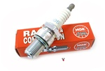 NGK racing spark plug - R6252E-105 - long thread