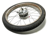 "USED 17"" RIGID vespa ciao FRONT spoke wheel"