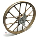 "USED 16"" front snowflake mag wheel for flandria - GOLD"