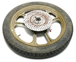 "USED grimeca gold 16"" disc wheel"