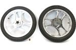 grimeca 3 star mag wheel set - WHITE - 16""