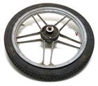 "USED grimeca 16"" front 5 star wheel super cool grey"