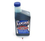 lucas high performance 2 cycle oil - 16oz