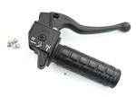 magura throttle assembly with integrated choke for sachs saxonette