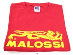 red yellow malossi t shirt