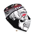 skull neoprene mask