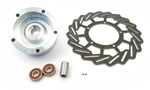 mike thomas puch five star HUB w/disc brake plus bearings ++ axle spacer