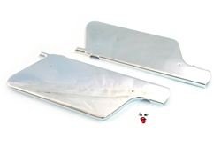 moped CHROME racer panels