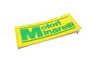 minarelli soul patch - yellow w/green letters