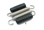 polini anti-rattle stainless steel exhaust springs x2 - 67mm
