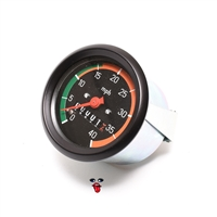 puch vdo 40MPH speedometer - two speed style GREEN n ORANGE