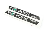 puch maxi k moped tank decals