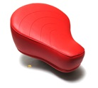 puch moped stock red seat - HELLA puffy