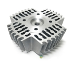 custom cut 45.5mm high compression head - for QT50 malossi kit!