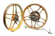 "USED 17"" special 5 stars - orange for minarelli, sachs, n more"