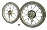 "USED 16"" snowflake mag wheel set for sachs"