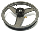 "USED 16"" peugeot SPX front mag wheel - dark grey"
