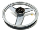 "USED 16"" peugeot SPX front mag wheel - grey"