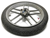 "USED 16"" front RAZZE PARALLELE five star mag wheel"