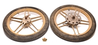 "USED 16"" grimeca GOLD five star mag set"