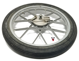 "simple USED 17"" grimeca front snowflake mag wheel"