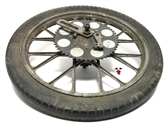 "USED 16"" another one of the plastic sprocket snowflake rear mags wheel"