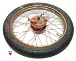 "USED 16"" colorful sprayblast italian FRONT spoke wheel"