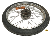 "USED 17"" front rando spoke wheel"