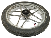 "USED 17"" rad 5 star front mag wheel"