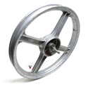 USED grey vespa 4 star front mag wheel - it's a goodins