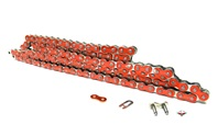415HD drive chain - 128 links - METALLIC ORANGE