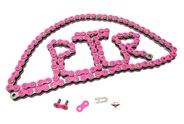 415HD drive chain - 128 links - NEON PINK
