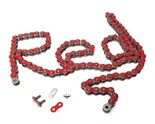415HD drive chain - 128 links - RASPBERRY RED