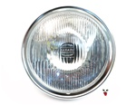 "black round 7"" headlight with H4 bulb"