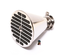 MLM bing velocity stack air filter - stainless steel
