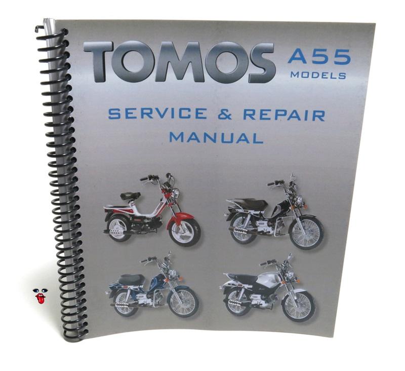 tomos oem a55 models service repair manual rh treatland tv tomos streetmate repair manual tomos 4 repair manual