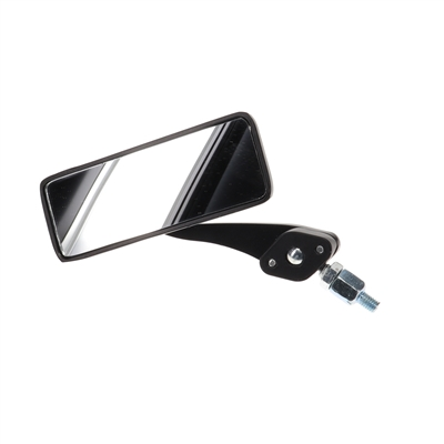 adjustable black rectangle mirror - LEFT side