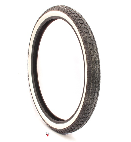 continental white wall tire 19 x 225