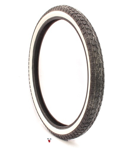 continental white wall tire 19 x 250