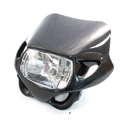 carbon fiber headlight fairing