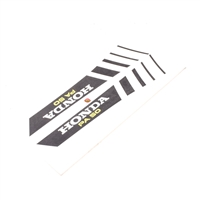 honda HOBBIT tank decal set - black stripes v1