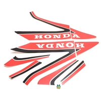 honda MB5 black n red decals