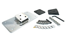 fender mount CHROME license plate bracket kit