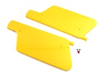 moped YELLOW racer panels