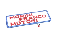 MOPED THREADS morini logo patch - square