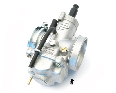 polini CP 15mm carburetor with pull choke - clamp style