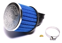 polini PHBG 90° angle blue foamy air filter - 34mm - LONGER
